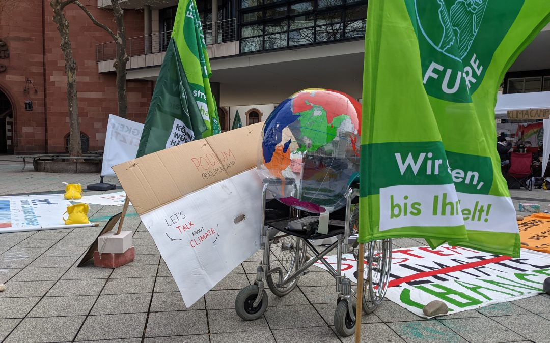 Klimacamp Saarbrücken: Dialog Statt Schikane!
